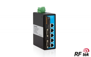 IES615-2D(RS-232)--5TP+2RS-232 portlu Endüstriyel Ethernet Switch
